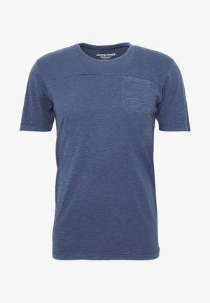 JORPIERCE CREW NECK - Basic T-shirt - dark blue