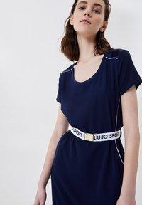 LIU JO - Jersey dress - blue - 3
