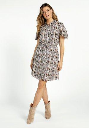 PARSHA - Shirt dress - cream dessin