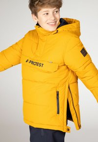 Protest - DYLAN JR  - Snowboard jacket - dark yellow - 6