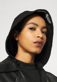 Calvin Klein Jeans - JACKET - Bunda zumělé kůže - black - 4