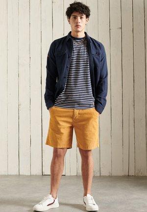Print T-shirt - nautical navy stripe
