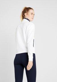 Lacoste Sport - TENNIS JACKET - Veste de survêtement - white/navy blue - 2