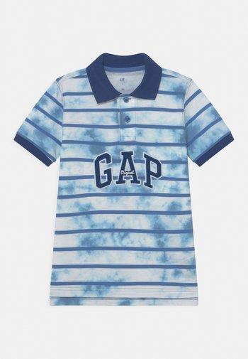 BOY PRINTED  - Polo shirt - cloudy blue