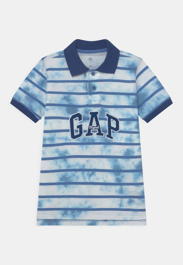 BOY PRINTED  - Polo - cloudy blue