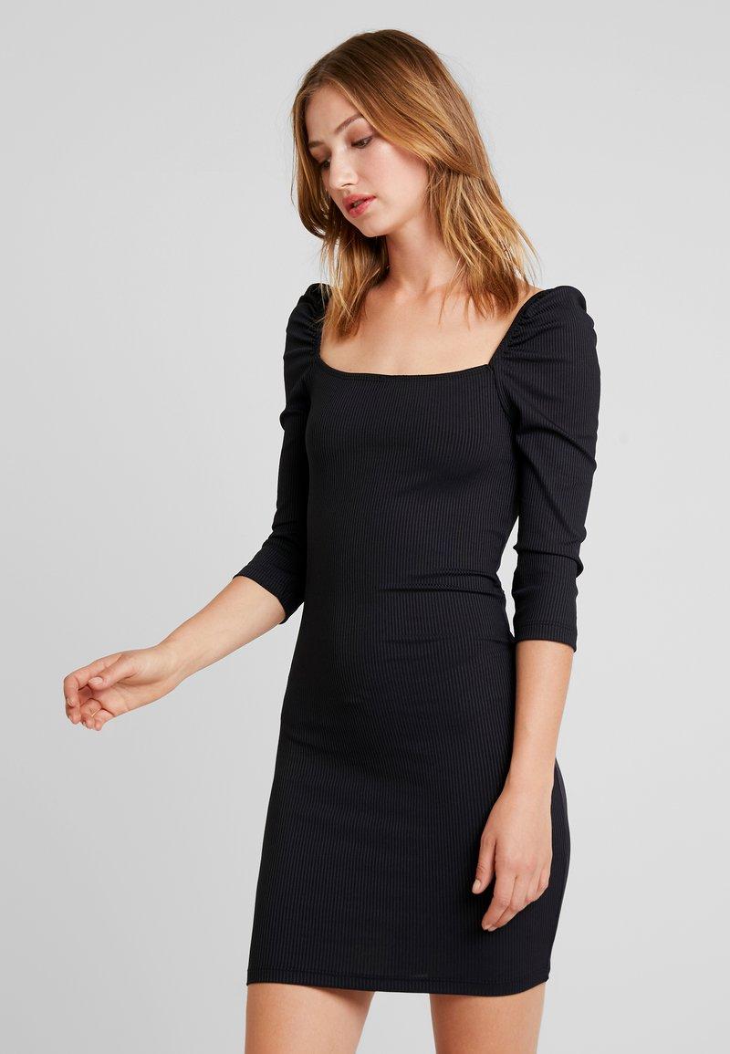 Even&Odd - Denní šaty - black