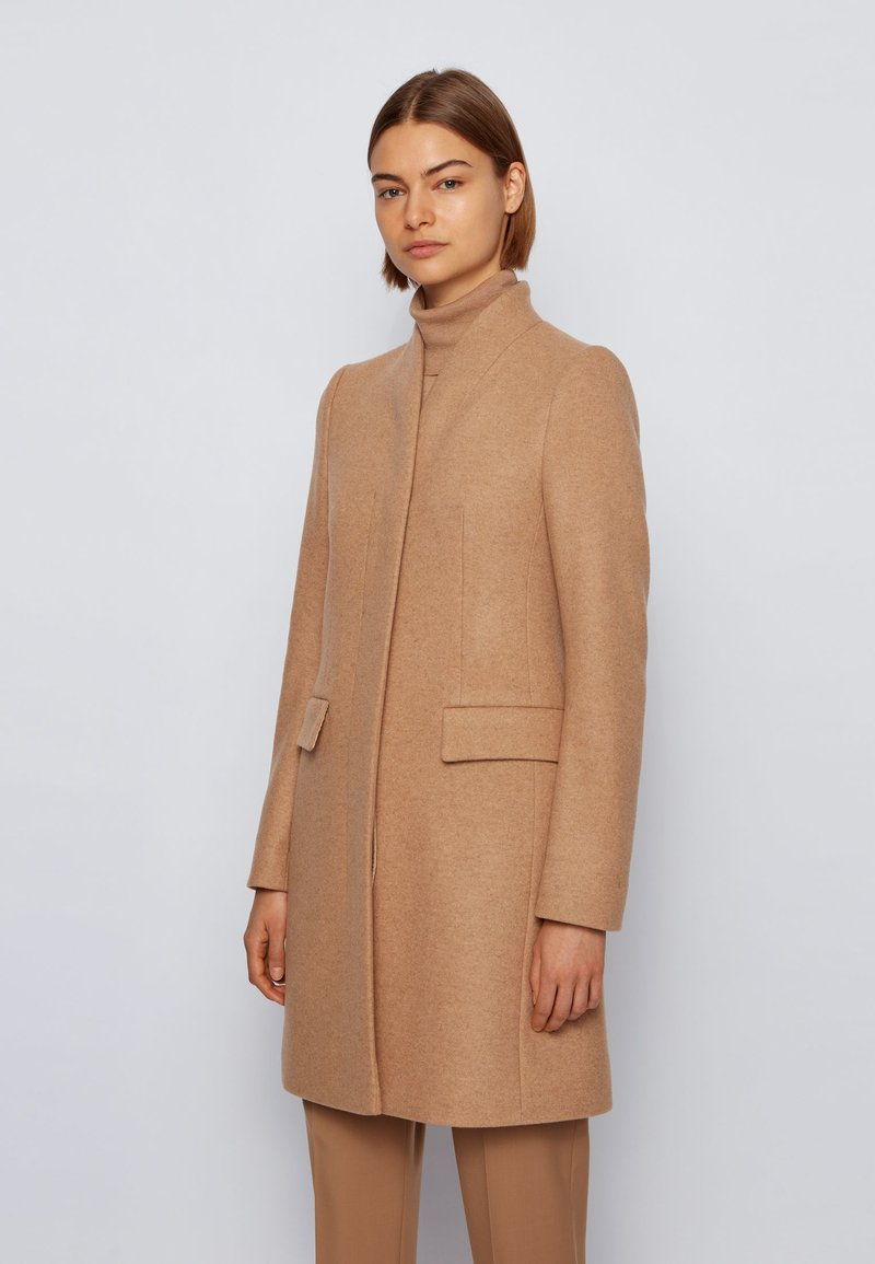 BOSS - Manteau classique - light brown
