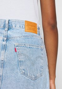 Levi's® - RIBCAGE SKIRT - Minirok - light blue denim