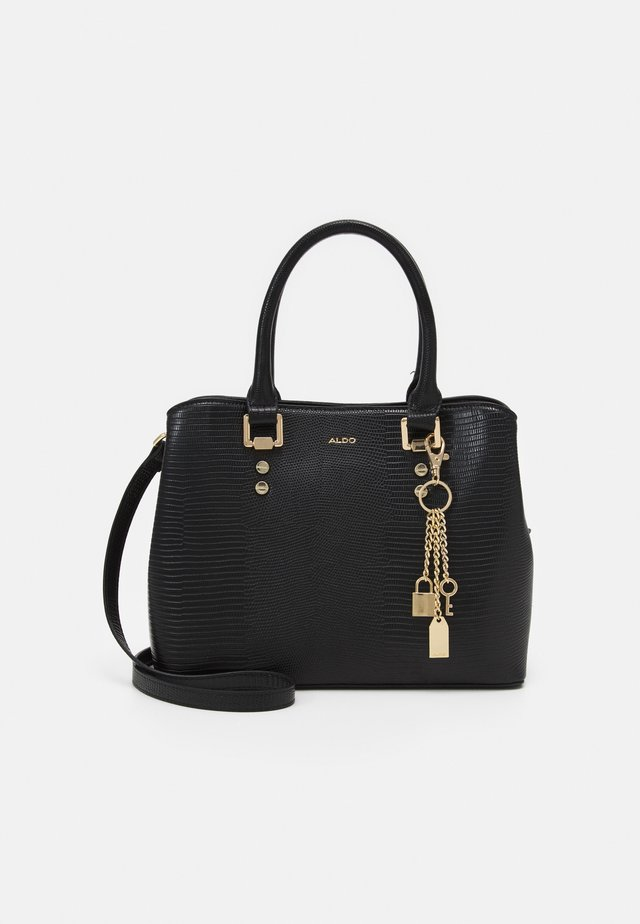 LIZARD - Handbag - black