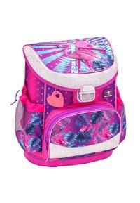 Belmil - SET - School bag - neon pink - 3