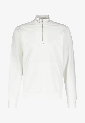 LOGO MOCKNECK UNISEX - Sweatshirt - weiss