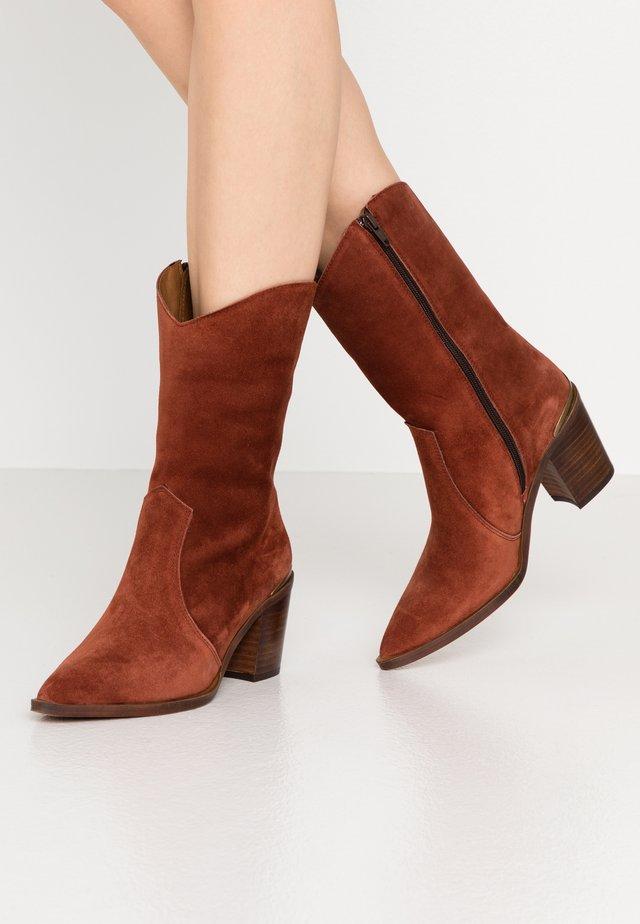 ALINA - Cowboy/Biker boots - teja