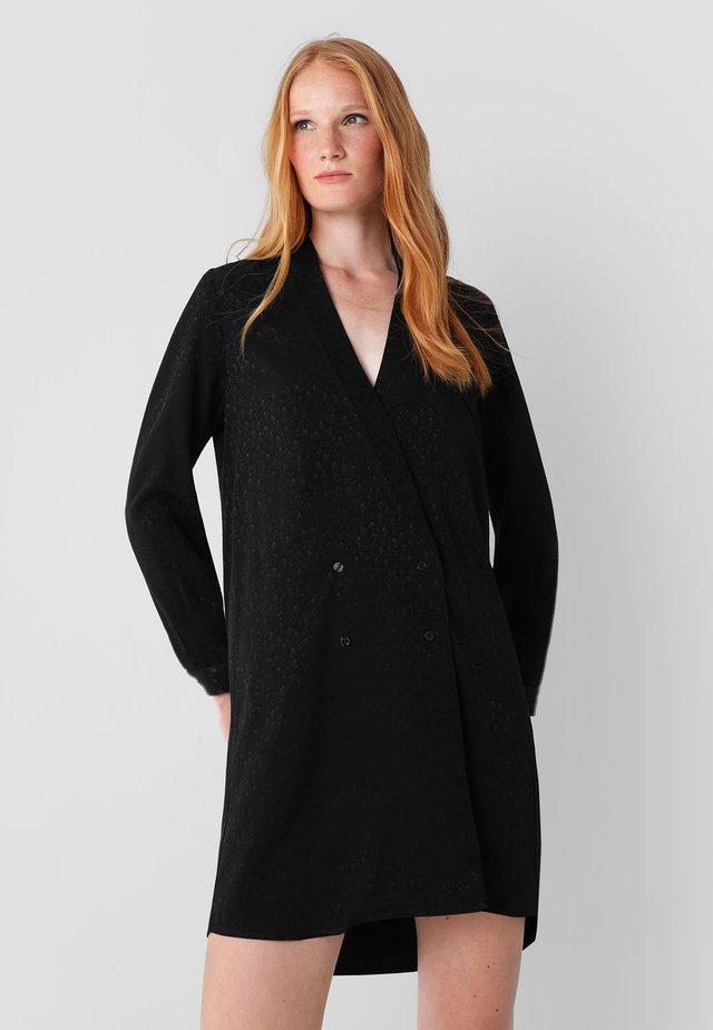 SKULL STAR DRESS - Korte jurk - black