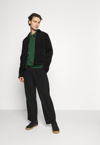 Weekday - COLE TROUSERS - Trousers - black - 1