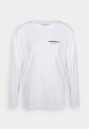 SUN SOLAR SKATER - Bluzka z długim rękawem - white