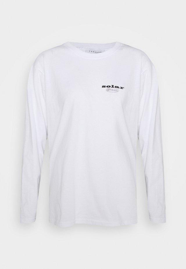 SUN SOLAR SKATER - Long sleeved top - white