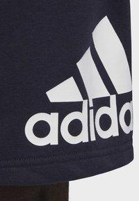 adidas Performance - MUST HAVES BADGE OF SPORT SHORTS - Short de sport - blue - 6