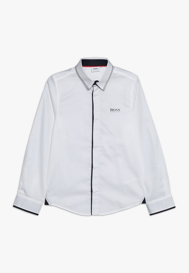 LANGARM - Camicia - weiss