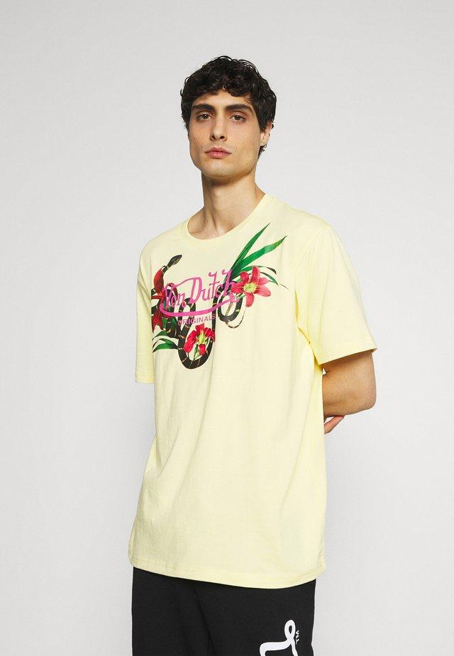 LEIGHTON - T-shirt con stampa - lemonade