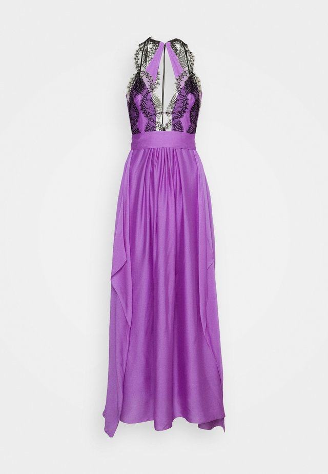 NECKLINE CAMI DRESS - Robe de cocktail - purple
