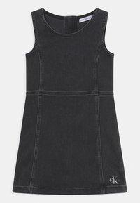Calvin Klein Jeans - Denim dress - grey - 0