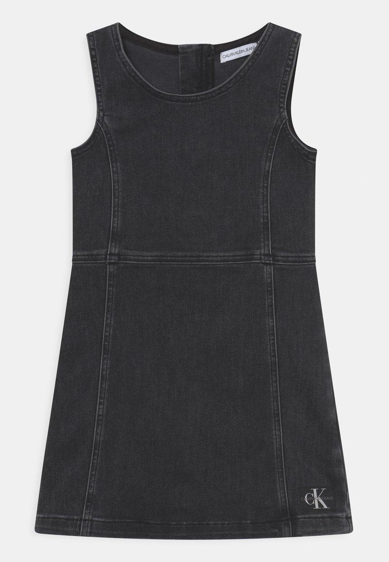 Calvin Klein Jeans - Denim dress - grey