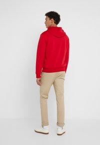 Polo Ralph Lauren - DOUBLE-KNIT FULL-ZIP HOODIE - Tröja med dragkedja - red - 2