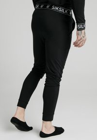 SIKSILK - LOUNGE PANTS - Tracksuit bottoms - black - 4