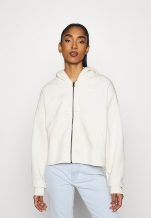 TREND - Zip-up hoodie - coconut milk