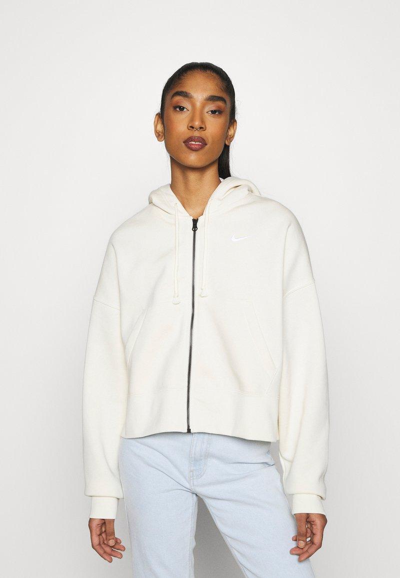 Nike Sportswear - TREND - veste en sweat zippée - coconut milk