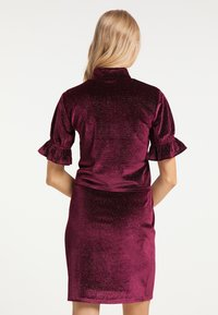 myMo at night - Blouse - bordeaux - 2