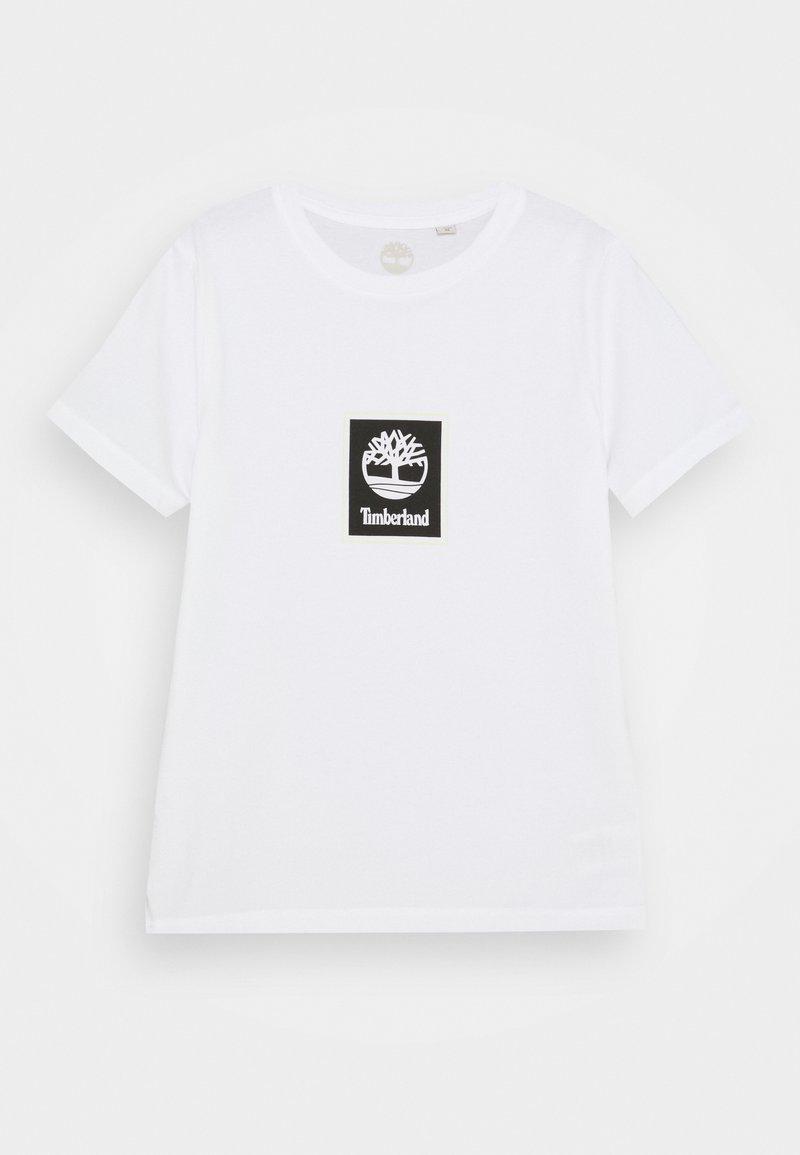 Timberland - SHORT SLEEVES TEE - Print T-shirt - white