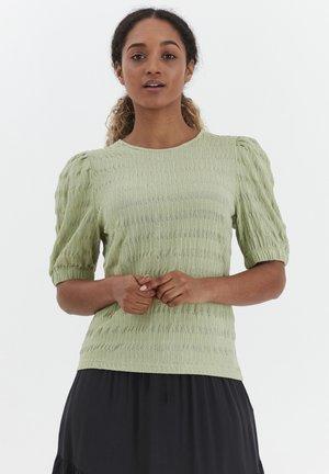 BYSANNY - Print T-shirt - grün