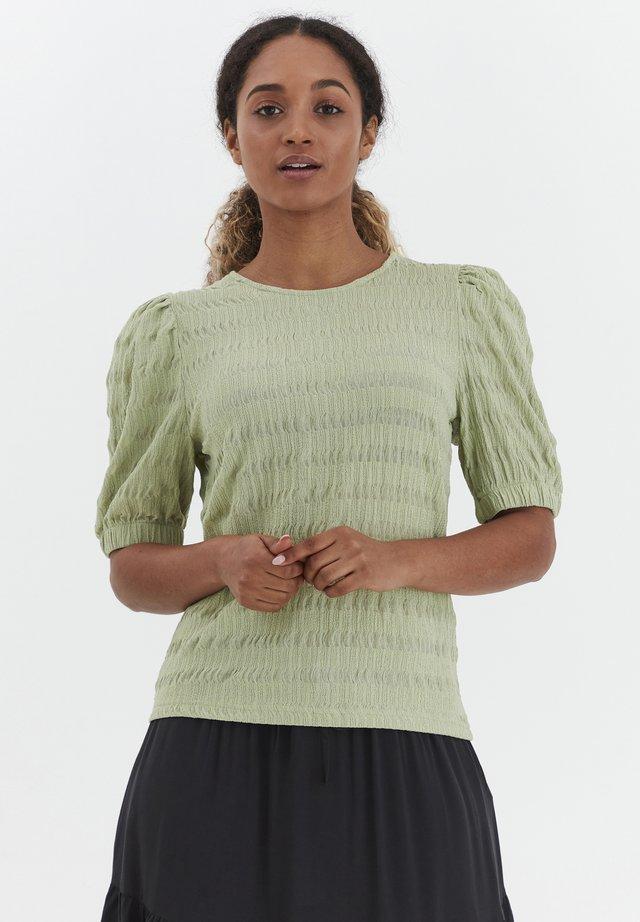 BYSANNY - T-shirts print - grün