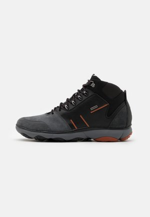 ABX - Lace-up ankle boots - anthracite/black