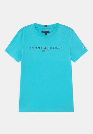 ESSENTIAL LOGO UNISEX - Camiseta estampada - bluefish