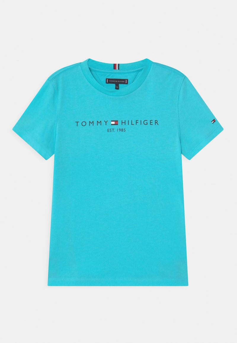 Tommy Hilfiger - ESSENTIAL LOGO UNISEX - Print T-shirt - bluefish