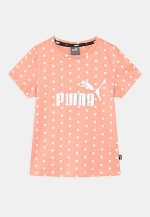 DOTTED UNISEX - Camiseta estampada - apricot blush