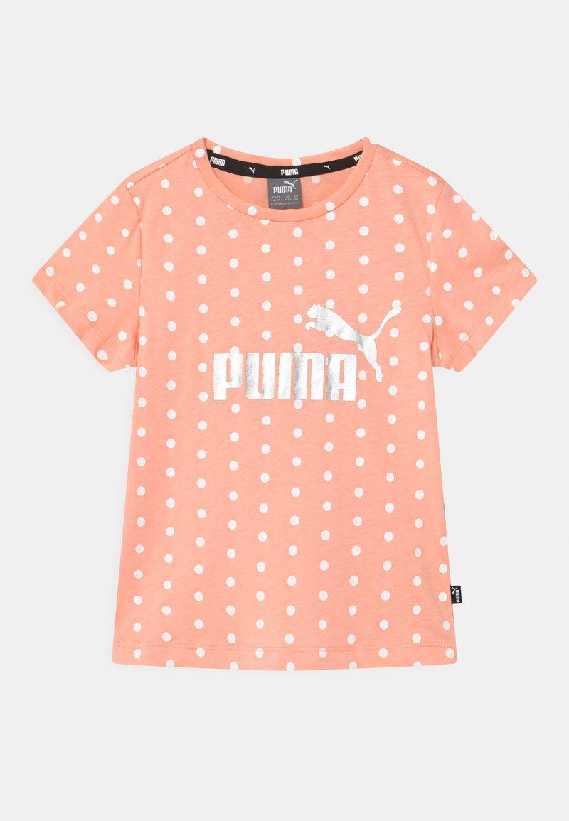 Puma - DOTTED UNISEX - Print T-shirt - apricot blush