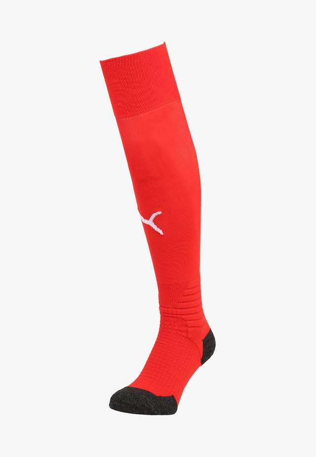 LIGA SOCKS - Football socks - puma red/puma white