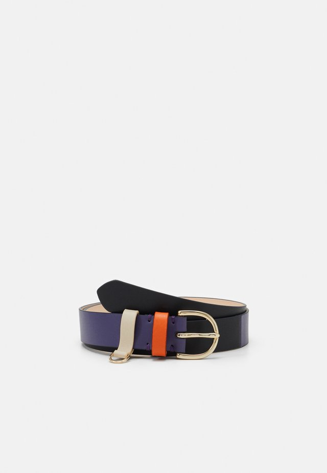 BELT BLOCK - Belt - navy