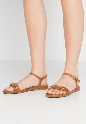 CARITA - Sandals - saddle