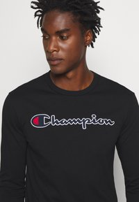 Champion - ROCHESTER CREWNECK LONG SLEEVE - Long sleeved top - black - 5