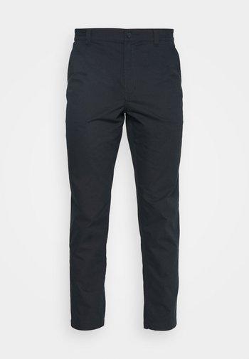 RUSHMORE RUGBY - Spodnie materiałowe - true navy