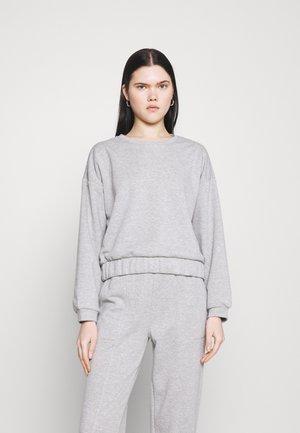 PCCOOLIO - Sweatshirt - light grey melange