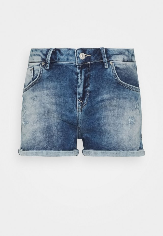 JUDIE - Denim shorts - leora wash