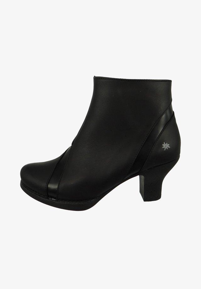 Ankle boots - black-black
