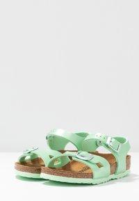 Birkenstock - RIO - Sandals - electric metallic mint - 3
