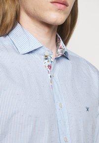Hackett London - SLIM FIT - Shirt - sky/multi-coloured - 4