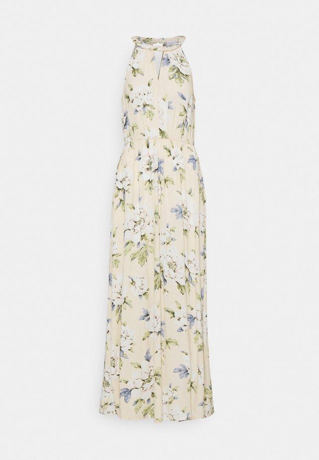 VIMESA BRAIDED DRESS - Maxi-jurk - sandshell